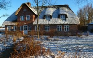 Landhaus-im-Winter